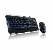 KIT TECLADO Y MOUSE GAMER THERMALTAKE Tt eSPORTS COMMANDER BLUE
