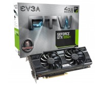 TARJETA DE VIDEO EVGA GTX 1050 Ti FTW GAMING 4GB GDDR5