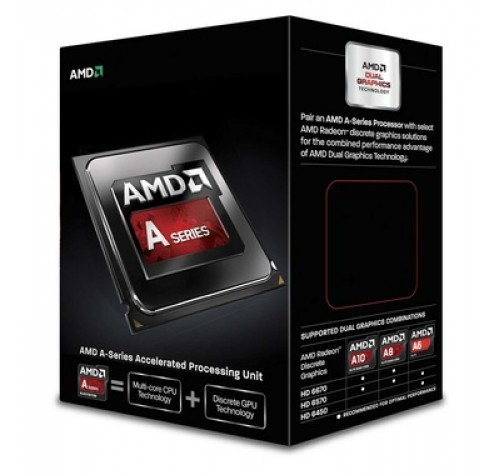AMD APU A10 X4 6800K 4.1GHz