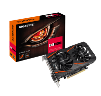 TARJETA DE VIDEO GIGABYTE RX 550 GAMING 2GB GDDR5 DOBLE FAN