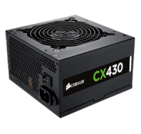 FUENTE PODER REAL CORSAIR CX 430W 80 PLUS BRONZE