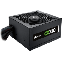 FUENTE PODER REAL CORSAIR CX 750W 80 PLUS BRONZE