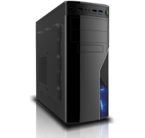 GABINETE INFOR 939 (1 FAN 120MM LED, 2 USB 2.0, 1 USB 3.0)