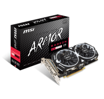 TARJETA DE VIDEO MSI RX 470 ARMOR OC 4GB DDR5
