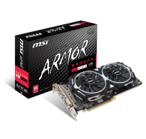 TARJETA DE VIDEO MSI RX 480 ARMOR OC 4GB DDR5