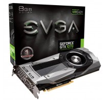TARJETA DE VIDEO EVGA GTX 1070 FOUNDERS 8GB DDR5