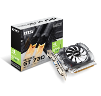 TARJETA DE VIDEO MSI GT 730 2GB DDR3