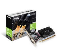 TARJETA DE VIDEO MSI GT 730 1GB DDR5
