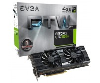 TARJETA DE VIDEO EVGA GTX 1050 Ti FTW DT GAMING 4GB GDDR5