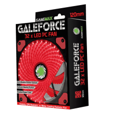 COOLER GAMEMAX GALEFORCE 32 LED RED 120MM (GMX-GF12R)