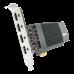 TARJETA DE VIDEO ASUS GT 710 2GB DDR5 4x HDMI