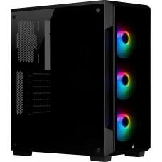 GABINETE ICUE 220T RGB BLACK