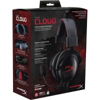 AUDIFONOS Kingston HyperX Cloud Gaming Headset (Black Red)