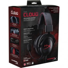 AUDIFONOS Kingston HyperX Cloud Gaming Headset (Black Red)