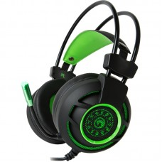 AUDIFONOS MARVO HG9012 GREEN AUDIFONOS 7.1 USB