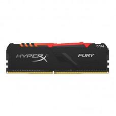 MEMORIA RAM KINGSTON HYPERX FURY RGB BLACK 8GB DDR4 3200Mhz CL16