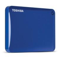 Disco Duro Externo Toshiba Canvio Connect II 1TB USB 3.0 Azul