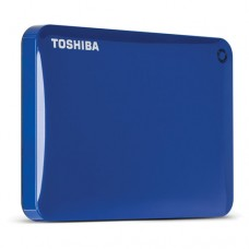 Disco Duro Externo Toshiba Canvio Connect II 1TB USB 3.0 Azul