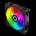 COOLER KIT GAMEMAX RL300 FAN ARGB 3 FAN 120MM CONTROLADOR REMOTO RF