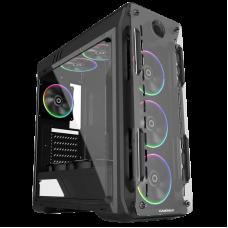 GABINETE GAMEMAX  OPTICAL G510 BK (4 FAN INCLUDIOS)