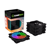COOLER KIT GAMEMAX CL400 FAN RGB FAN 120MM CONTROLADOR REMOTO RF