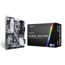 M/B BIOSTAR Z490A-SILVER