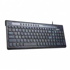 TECLADO ONE MULTIMEDIA WATERPROOF EK-650E