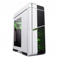 GABINETE GAMEMAX 9536 WHITE (3 FAN 120CM INCLUIDOS)