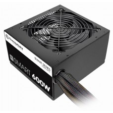 Fuente de Poder Thermaltake Smart 600W 80PLUS WHITE (SPD-0600P)