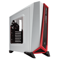 Gabinete Corsair Spec-Alpha White/Red