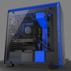 GABINETE NZXT H700I RGB BLACK/BLUE