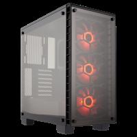GABINETE CORSAIR CRYSTAL 460X RGB CLEAR