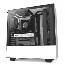 GABINETE NZXT H500 WHITE/BLACK