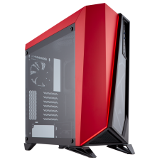 GABINETE CORSAIR CARBIDE SPEC-OMEGA BLACK/RED