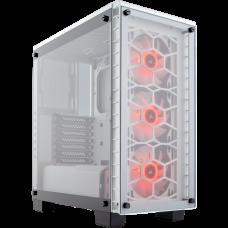 GABINETE CORSAIR CRYSTAL 460X RGB WHITE