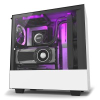 GABINETE NZXT H500I RGB WHITE/BLACK