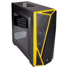 Gabinete Corsair Carbide Spec-04 Black/Yellow