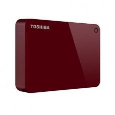 """DISCO DURO EXTERNO TOSHIBA CANVIO ADVANCE 2.5"""" 1TB RED"""