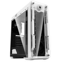 GABINETE GAMEMAX OPTICAL G510 WHITE 4 FAN ARGB