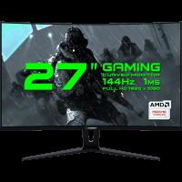 "MONITOR GAMER GAMEMAX 27"" GMX27C144 BLACK"