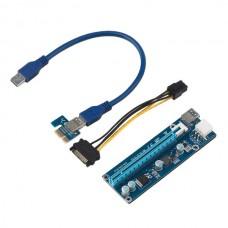 ADAPTADOR PCI-E PCI E Express 1x to 16x RISER Extender