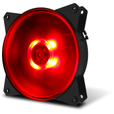 Ventilador Cooler Master MasterFan MF120L Red Led 12cm