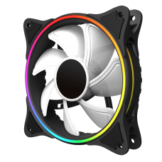 COOLER GAMEMAX 120MM MIRAGE RAINBOW RGB WHITE  FN12RAINBOW-W