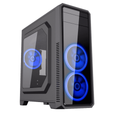 GABINETE GAMER GAMEMAX G561 BLACK (3 FAN INCLUIDOS)