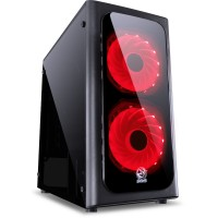 GABINETE PCYES VENUS RED (2 FAN)