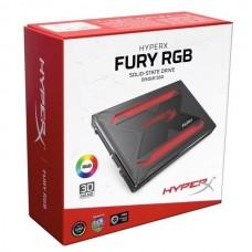 """DISCO DURO 2.5"""" SSD HyperX FURY RGB 240GB BOX"""