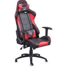SILLA GAMER PCYES MAD RACER V8 BLACK RED