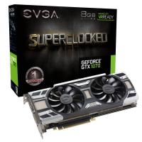 Tarjeta de Video EVGA GeForce GTX 1070 SC GAMING 8GB GDDR5 ACX 3.0 & LED