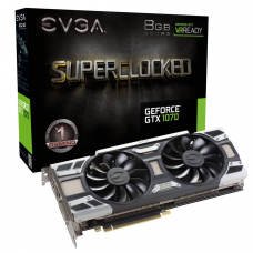 Tarjeta de Video EVGA GeForce GTX 1070 SC GAMING 8GB GDDR5 ACX 3.0 & LED