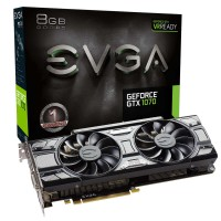 Tarjeta de Video EVGA GeForce GTX 1070 GAMING 8GB GDDR5 Black Edition